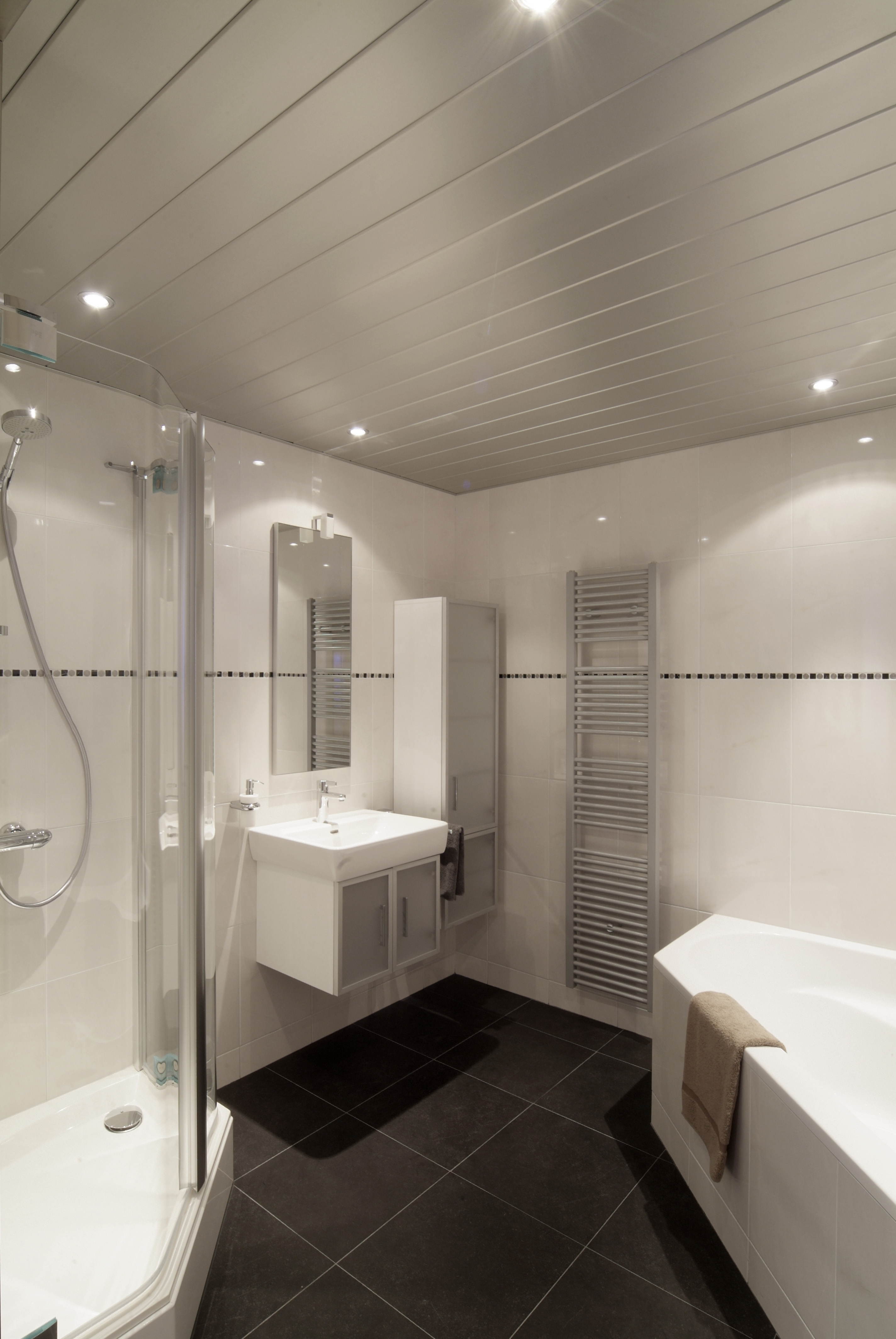 Badkamer Plafond : Badkamer plafond verf verwijderen. Plafond badkamer ...