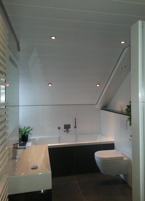 Luxalon plafond geeft optisch voordeel – Hoogenboom Plafonds VOF